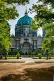 柏林柏林,德国大教堂大教堂  免版税库存图片