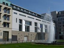 柏林法国大使馆 免版税库存照片
