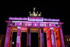 柏林灯节 库存照片