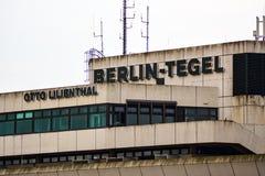 柏林特赫尔机场 免版税库存照片