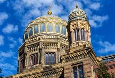 柏林犹太教堂 库存图片