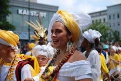 柏林狂欢节文化 免版税图库摄影