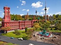 柏林由块做了 库存图片