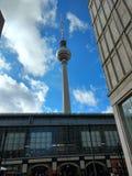 柏林电视塔 库存照片