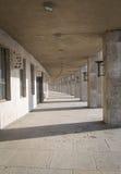 柏林的奥林匹亚体育场走廊视图  图库摄影