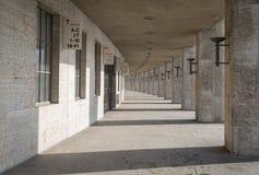 柏林的奥林匹亚体育场走廊视图  库存照片