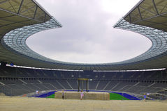 柏林的奥林匹亚体育场 免版税库存图片