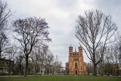 从柏林的老教会 免版税库存图片