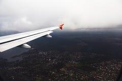 柏林的航空图片从俯视图的 免版税库存图片