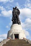 柏林纪念公园苏联treptower战争 免版税图库摄影