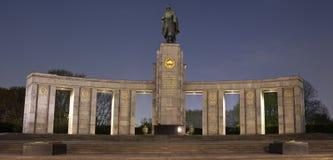 柏林纪念苏联战争 免版税库存图片