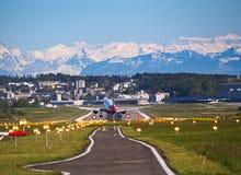柏林航空A-320 免版税库存照片