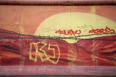 柏林街道画墙壁 免版税图库摄影