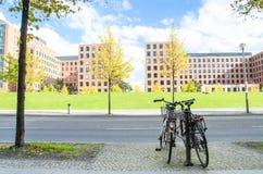 柏林街道 免版税库存图片