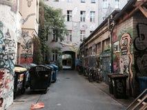 柏林街 免版税库存图片