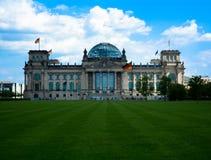 柏林西德联邦议会 库存图片