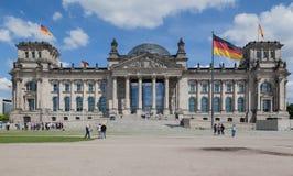柏林议会 免版税库存照片