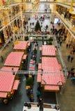 柏林购物中心圣诞节立场 库存图片
