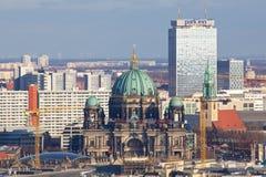 柏林都市风景 免版税图库摄影