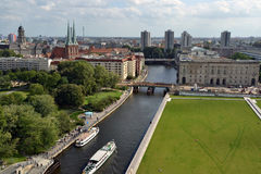 柏林重点视图 免版税库存图片