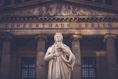 柏林雕象 库存图片