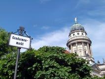 柏林音乐厅 库存图片