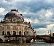 柏林预示德国博物馆 库存照片