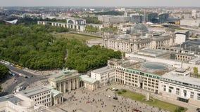 柏林鸟瞰图  影视素材