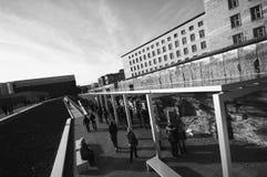柏林,墙壁 免版税图库摄影