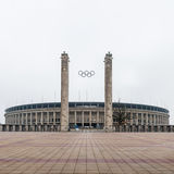 柏林,奥林匹亚体育场 免版税库存图片