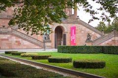 柏林,德国,博物馆岛,美术画廊,历史大厦也是纪念碑, 图库摄影