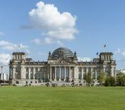 柏林,德国, 2012年9月28日:Reichstag大厦 库存照片