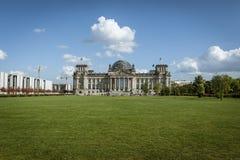 柏林,德国, 2012年9月28日:Reichstag大厦 库存图片