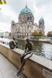 柏林,德国-大教堂-柏林大教堂 免版税库存照片