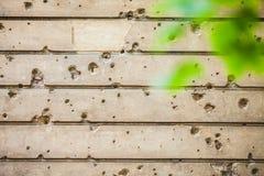 柏林,德国-子弹墙壁 免版税图库摄影
