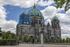 柏林,德国- 2018年7月01日:柏林大教堂 库存图片