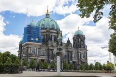 柏林,德国- 2018年7月01日:柏林大教堂 免版税库存照片