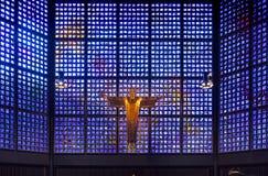 柏林,德国- 2018年8月20日-修改kaiser威谦廉教会 库存照片