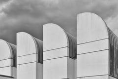柏林,德国- 2015年7月:鲍豪斯建筑学派档案, Desi博物馆  库存图片