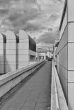 柏林,德国- 2015年7月:鲍豪斯建筑学派档案, Desi博物馆  免版税库存图片