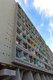 柏林,德国- 2014年7月:Corbusier Haus被设计了  免版税图库摄影