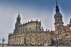 柏林,德国- 2016年10月02日:德累斯顿老镇的Histoirical中心 德累斯顿有一个悠久的历史作为 免版税库存照片