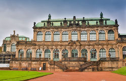 柏林,德国- 2016年10月02日:德累斯顿老镇的Histoirical中心 德累斯顿有一个悠久的历史作为 库存图片