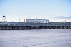 柏林,德国- 2012年10月28日:柏林藤珀尔霍夫机场 结构 免版税图库摄影