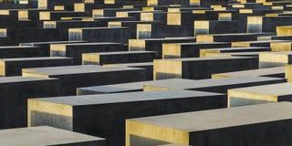 柏林,德国- 2014年11月17日:犹太浩劫Memoria看法  库存照片