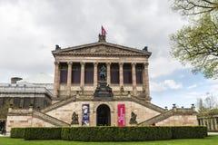 柏林,德国Alte Nationalgalerie老国家肖像馆  免版税库存照片