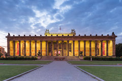 柏林, Altes博物馆 库存照片