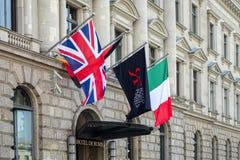 柏林, GERMANY/EUROPE - 9月15日:旅馆de罗马在柏林 库存照片