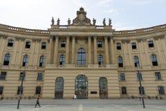 柏林洪堡大学。法律系 免版税库存图片