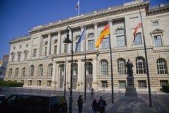 柏林洪堡大学,德国 免版税库存照片